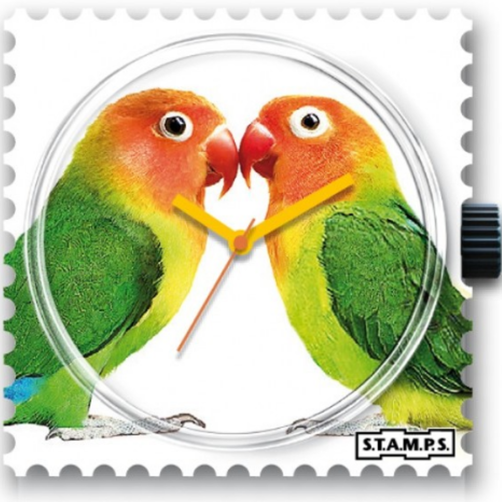 Montre Stamps MONTRE STAMPS Lovebirds