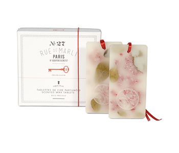 Tablettes de cire parfumées (2) Rue de Marli No27