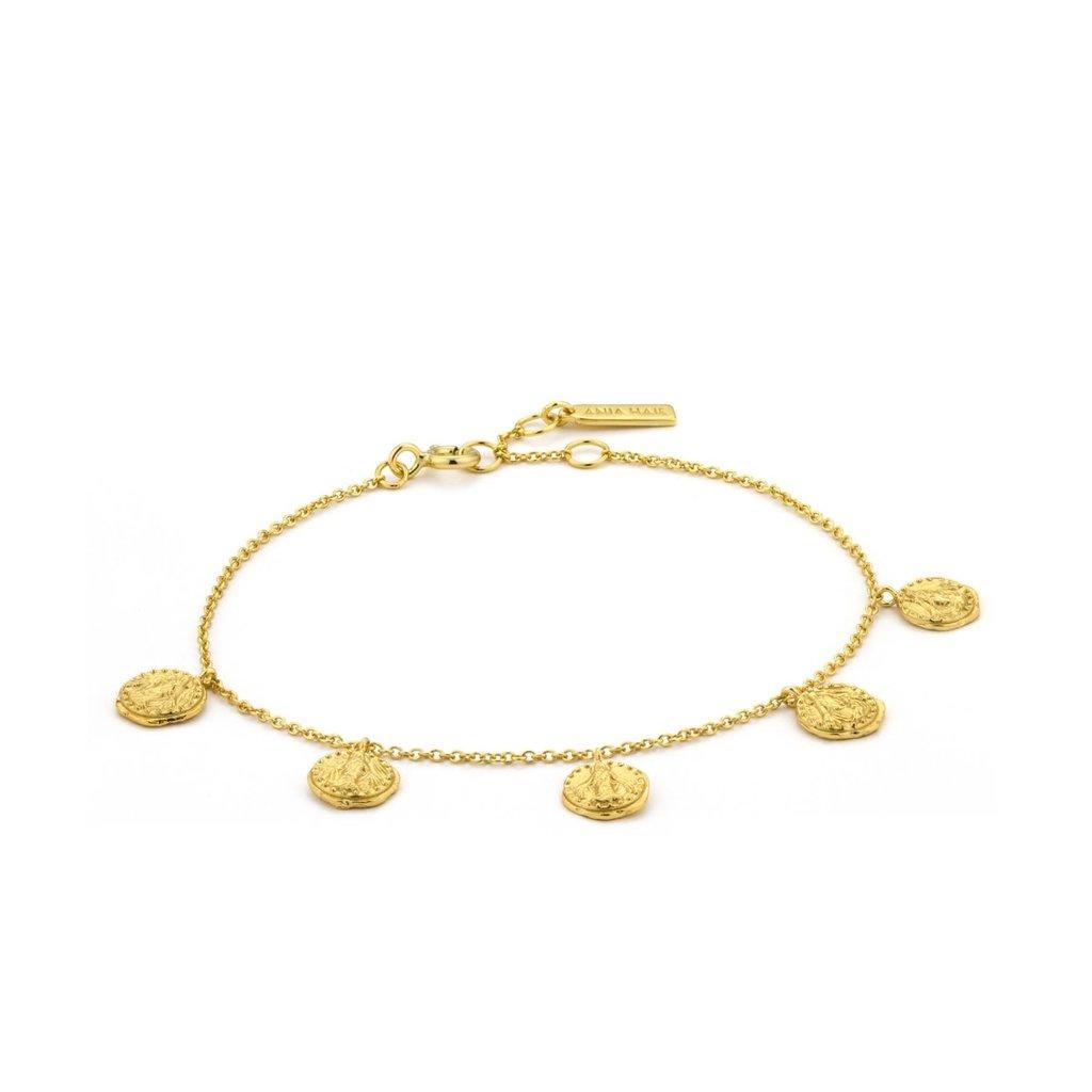Ania Haie Bracelet Ania Haie Deus gold