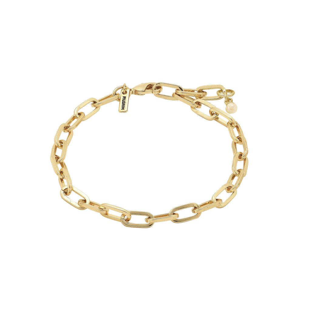 Pilgrim Bracelet en chaîne Pilgrim Bibi or