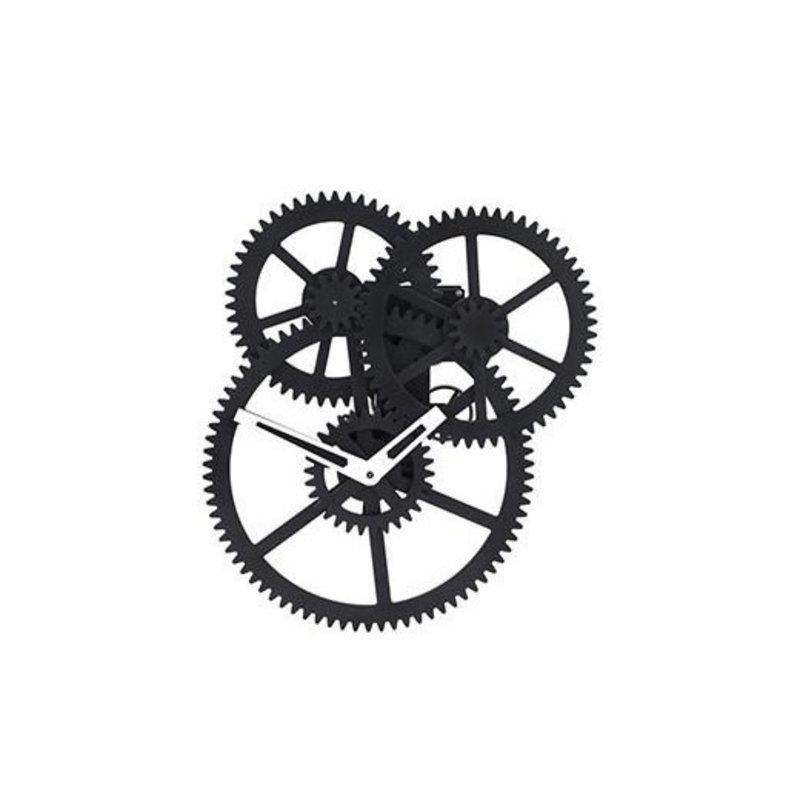 Kikkerland Triple Gear Wall Clock de Kikkerland
