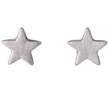 Petites boucles d'oreilles Pilgrim Ava argent