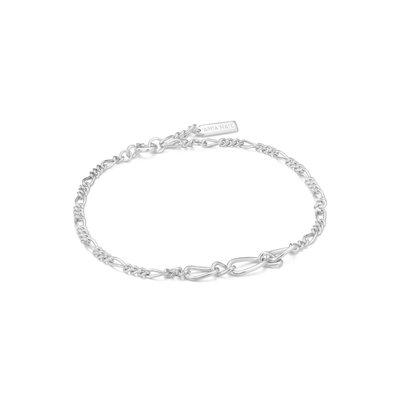 Ania Haie Bracelet Ania Haie Figaro Chain Bracelet Silver