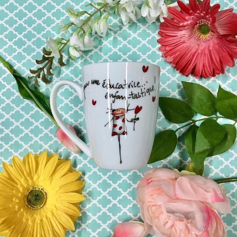 Ma Grand'Noire Tasse Ma Grand'Noire pour une éducatrice enfan-tastique !