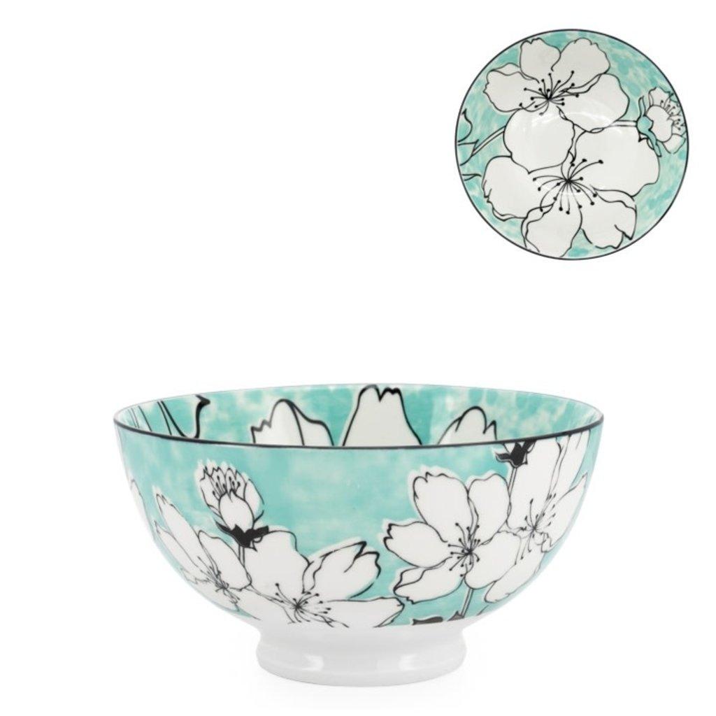 Torre & Tagus Bol en porcelaine Kiri 6 Sakura Bloom