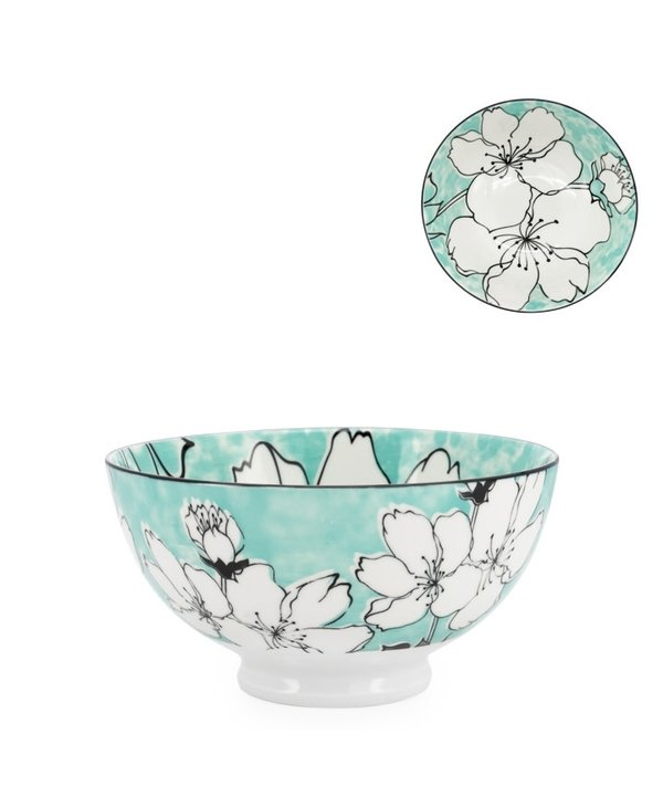 Bol en porcelaine Kiri 6 Sakura Bloom