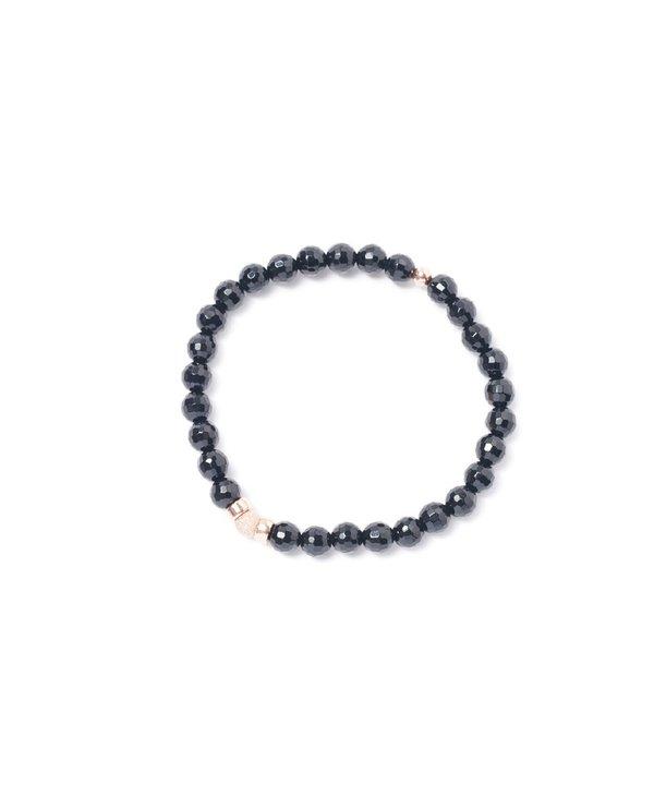 Bracelet Beblue BE SURYA SMOOTH noir