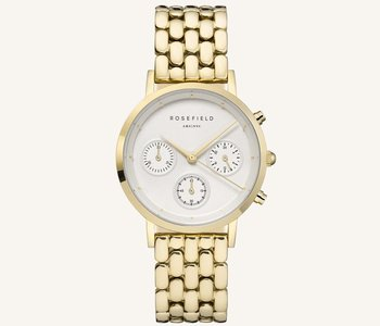 Montre Rosefield N90 The Gabby White Gold