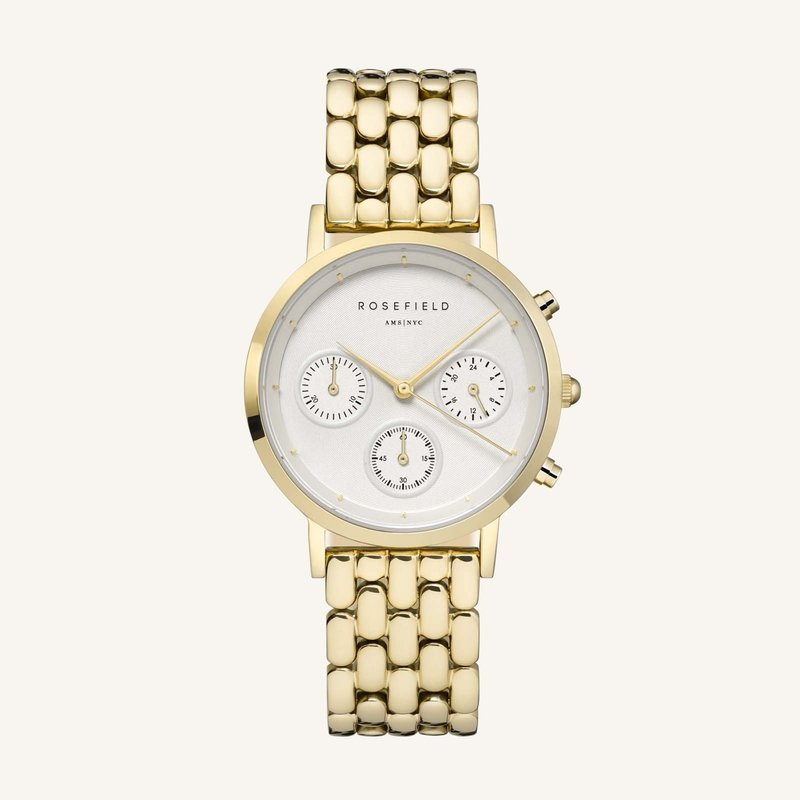 Rosefield Montre Rosefield N90 The Gabby White Gold