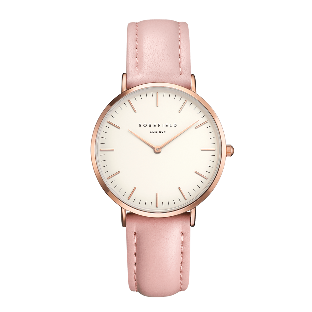 Rosefield Montre Rosefield The Tribeca Blanc rose 33mm