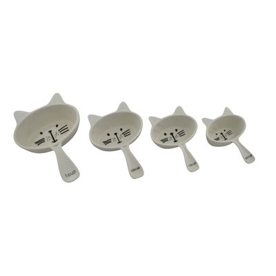 Tasses à mesurer chats ens.4