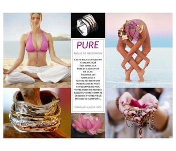 Bague de méditation La Pure