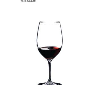 Verre à vin à Bordeaux collection Vinum de Riedel
