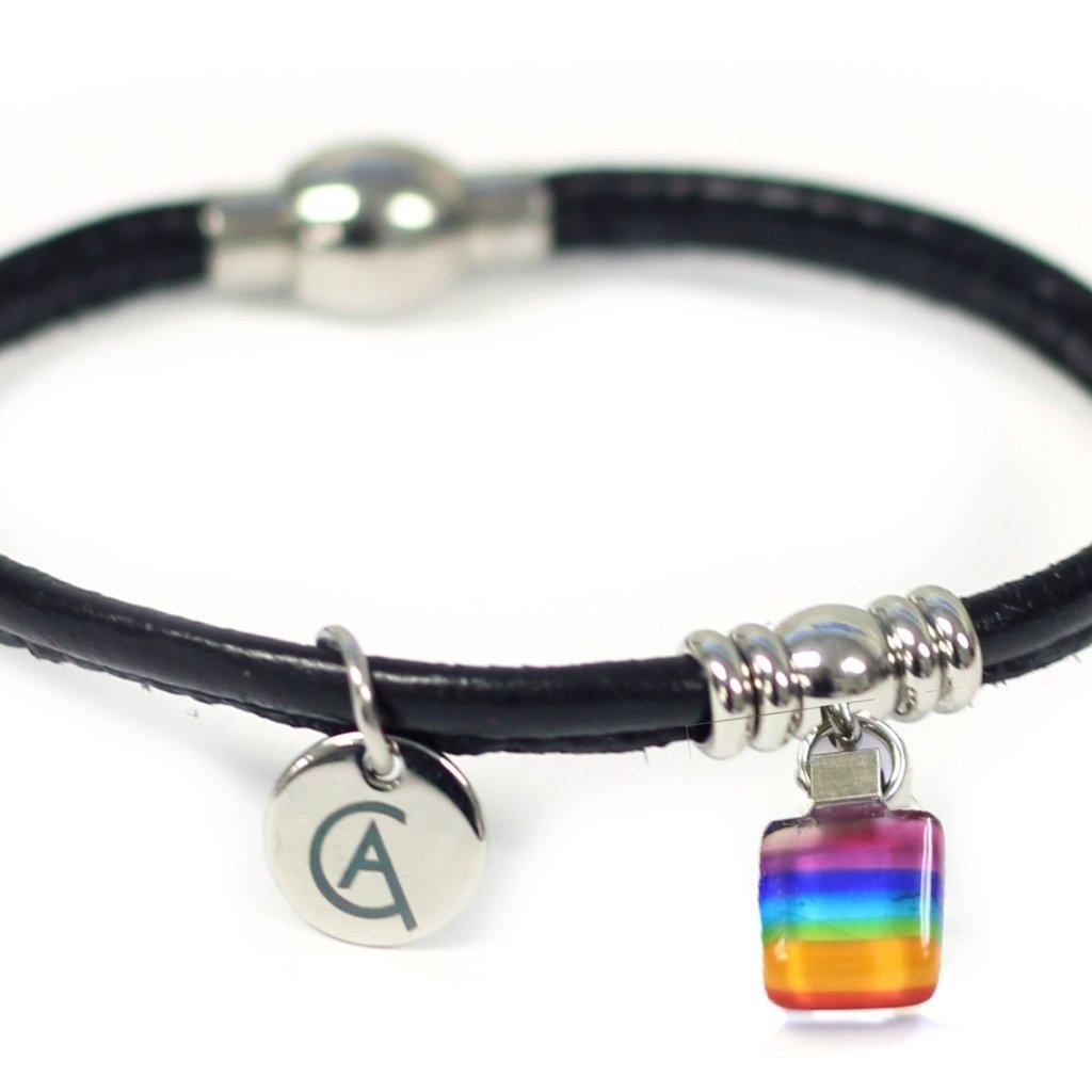 Cré-Art Bracelet Classique « Ça va bien aller » noir de Créart