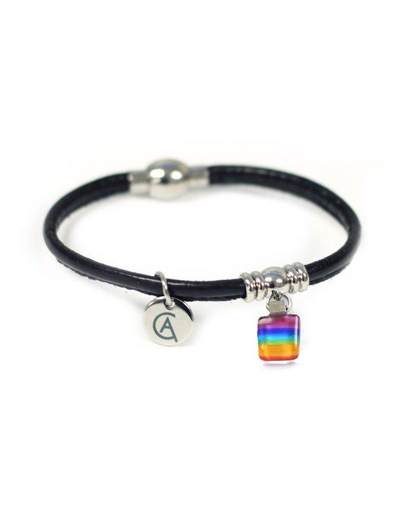 Bracelet Classique « Ça va bien aller » noir de Créart