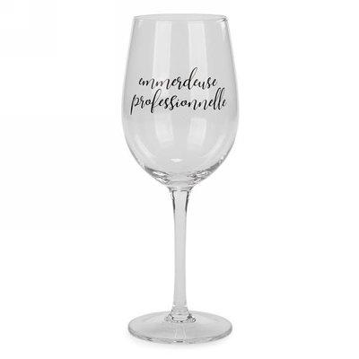 Verre à vin Emmerdeuse professionnelle