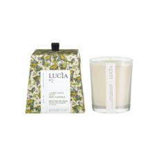 Lucia N°2 Bougie de soja Feuille de laurier et olive 20h Lucia