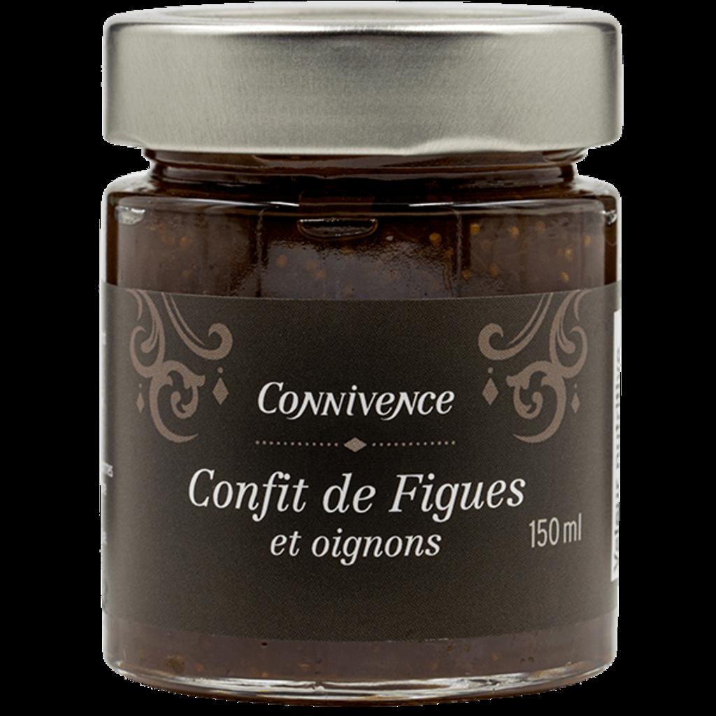 Connivence Confit de figues et oignons de Connivence