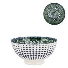 Torre & Tagus Bol Kiri en porcelaine 6 Green Mandala