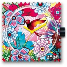 Montre Stamps Montre Stamps Bird of paradise