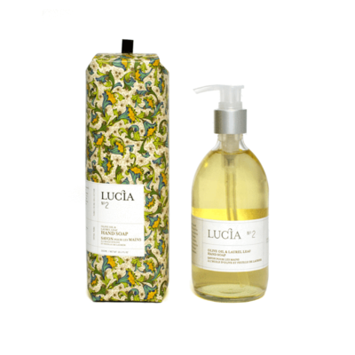 Lucia N°2 Savon pour les mains à l'huile d'olive et feuille de laurier Lucia