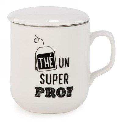 Tasse de thé « thé un super prof »