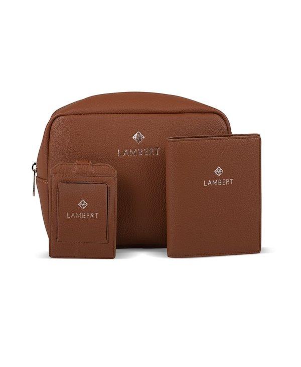 Amy Étiquette à bagage Lambert Noire