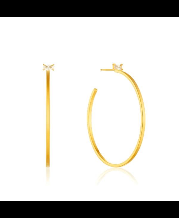 Boucles d'oreilles Ania Haie Gold Glow Hoop