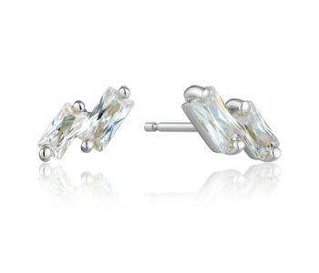 Boucles d'oreilles Ania Haie Glow Silver Stud