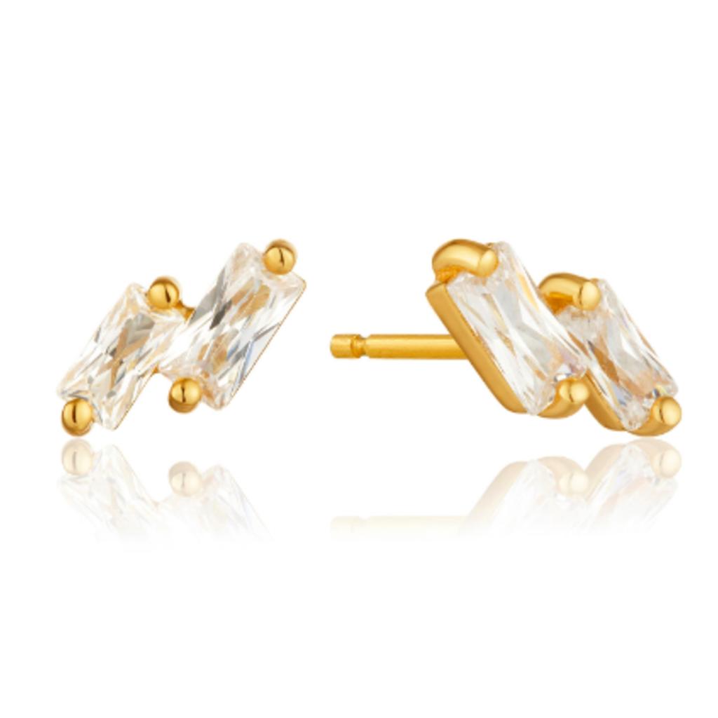 Ania Haie Boucles d'oreilles Ania Haie Glow Gold Stud
