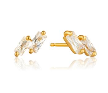 Boucles d'oreilles Ania Haie Glow Gold Stud