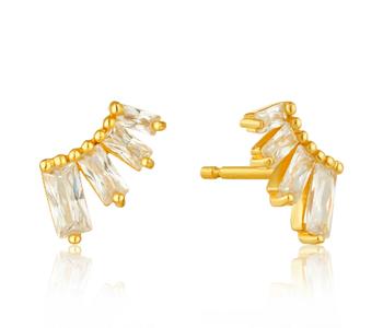 Boucles d'oreilles Ania Haie Glow Bar Gold Stud