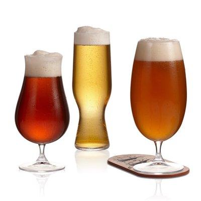 I.C.M. Ensemble de dégustation de bières artisanales 6 pièces