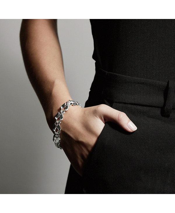 Bracelet Pilgrim Hollis argent