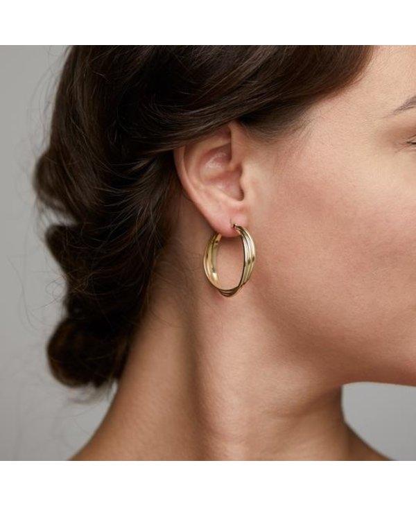 Boucles d'oreilles Pilgrim Jenifer or