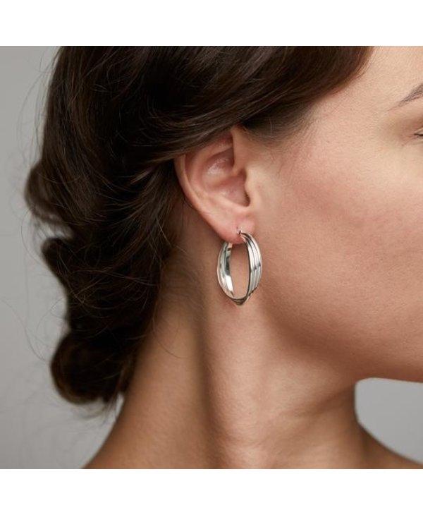 Boucles d'oreilles Pilgrim Jenifer argent