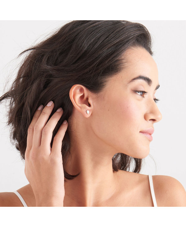 Boucles d'oreilles Ania Haie Opal Colour Gold Stud