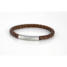Neptn Bracelet Neptn Sailor Pro Steel 6L cuir antique M
