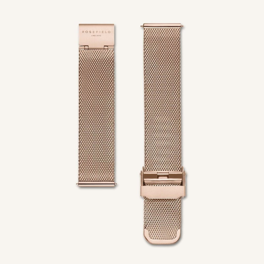 Rosefield Montre Rosefield 265 The Small Edit White Rose gold
