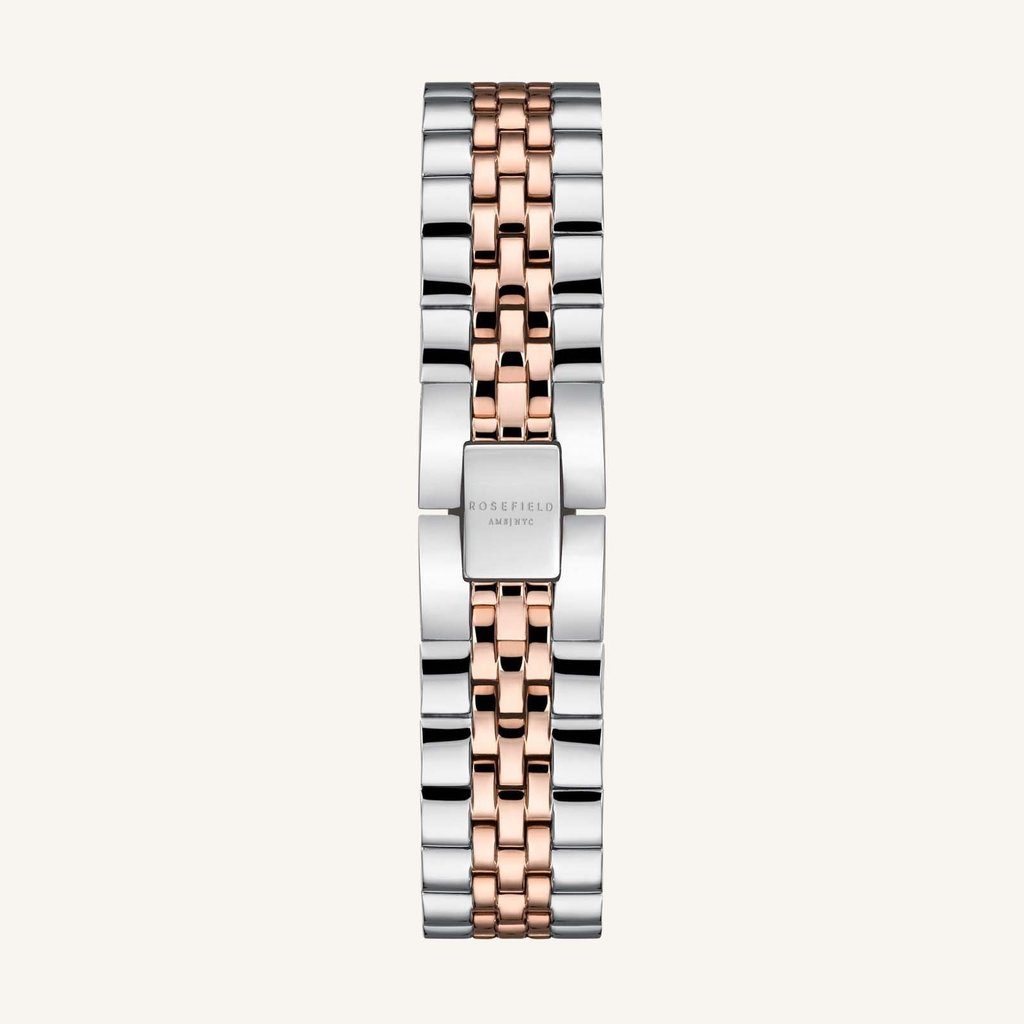 Rosefield Montre Rosefield The Boxy XS White Rose gold