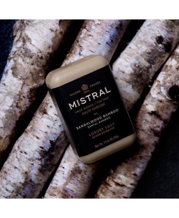 Barre de savon Mistral Sandalwood Bamboo
