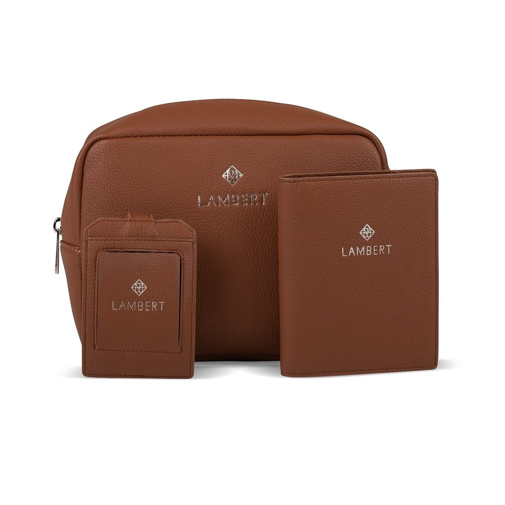 Lambert Amy Étiquette à bagage Lambert Noire