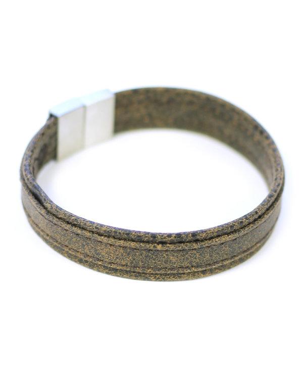 Bracelet pour homme de Cré-Art noir