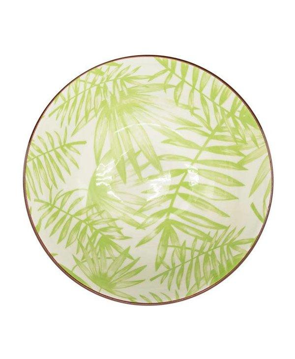 Bol en porcelaine Kiri 6 Palm Leaf