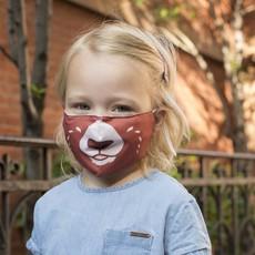Kikkerland Couvre-visage pour enfants ours de Kikkerland