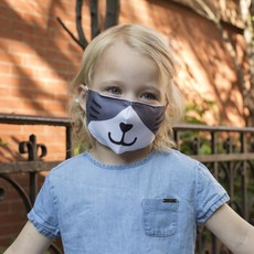 Kikkerland Couvre-visage pour enfants chat de Kikkerland