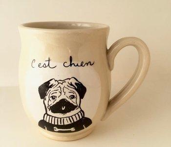 Tasse Weilbrenner & Lebeau c'est chien