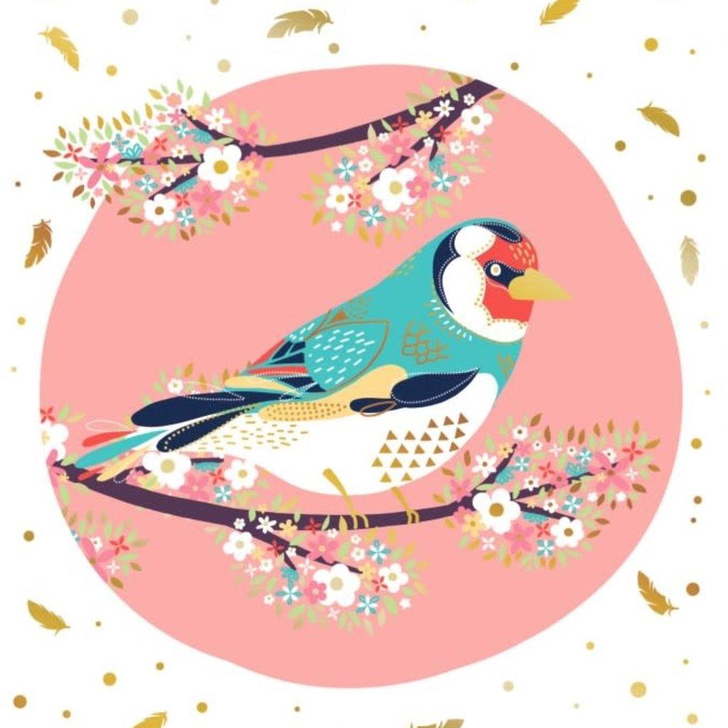 Carte de souhait Oiseau