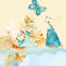 Carte de souhait Papillon