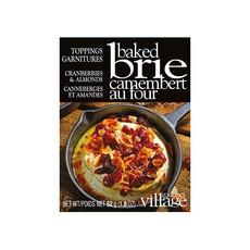Gourmet du Village Garnitures pour brie au four canneberges et amandes Gourmet du Village